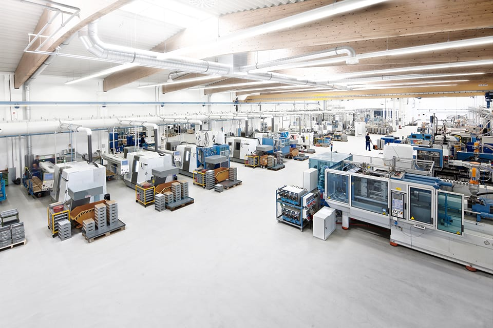 GFOS Kunde IMS Gear - Produktionshalle